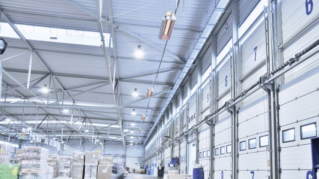 Heating of distribution centres