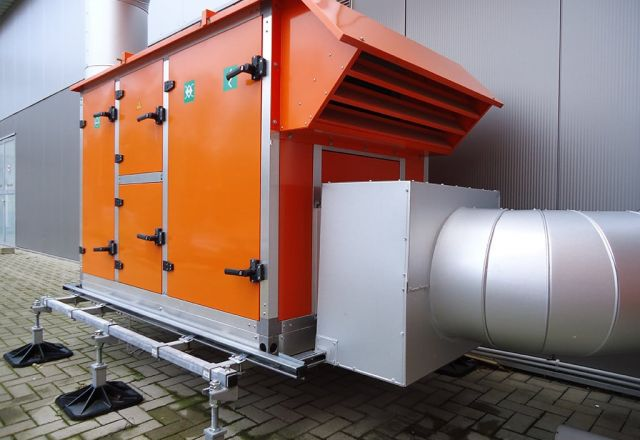 Product picture of Schwank's hybridSchwank aero condensing system.