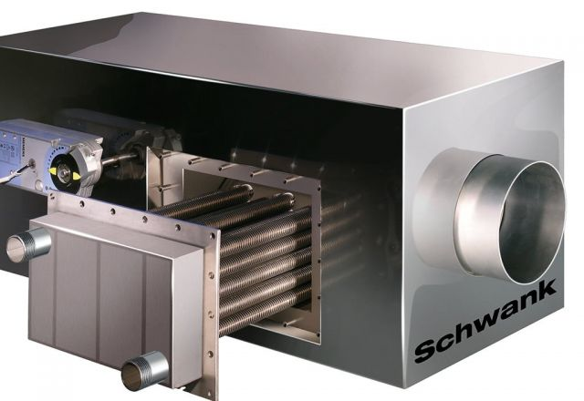 Product picture condensing system hybridSchwank hydro from Schwank.