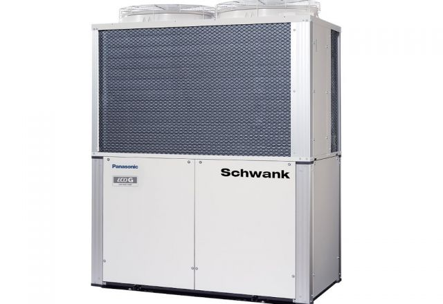 Product picture of the gas heat pump ECO-G GE3 from Schwank.