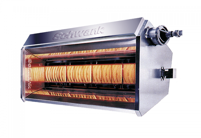 Product picture luminous heater supraSchwank of the company Schwank.